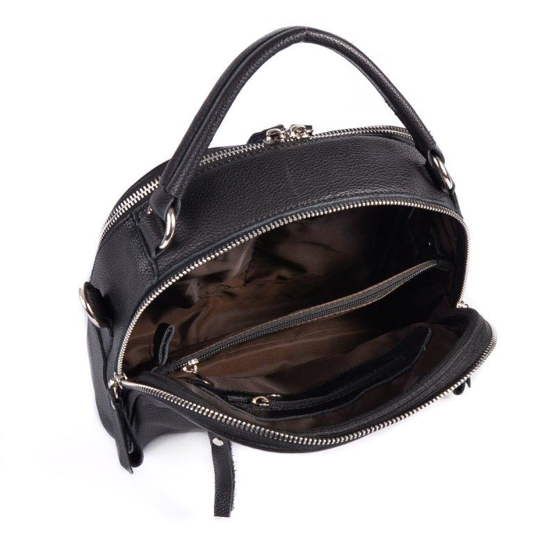 Сумка Женская Классическая кожа М 264 black - фото 5