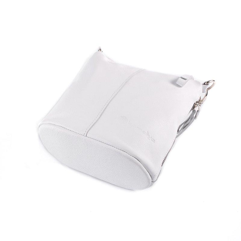 Сумка Женская Классическая кожа М 246 white - фото 4