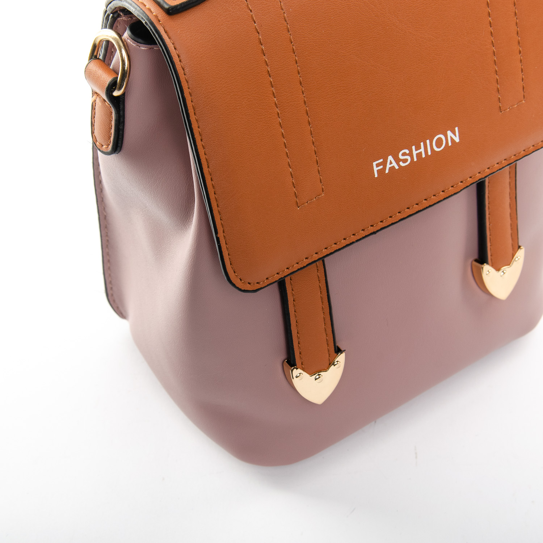Сумка Женская Классическая иск-кожа FASHION 1-05 6737 pink - фото 3