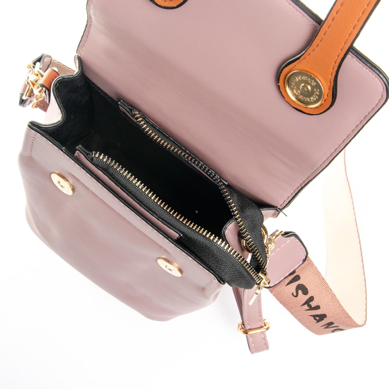 Сумка Женская Классическая иск-кожа FASHION 1-05 6737 pink - фото 5