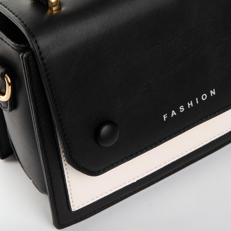 Сумка Женская Классическая иск-кожа FASHION 1-05 3181 black - фото 3