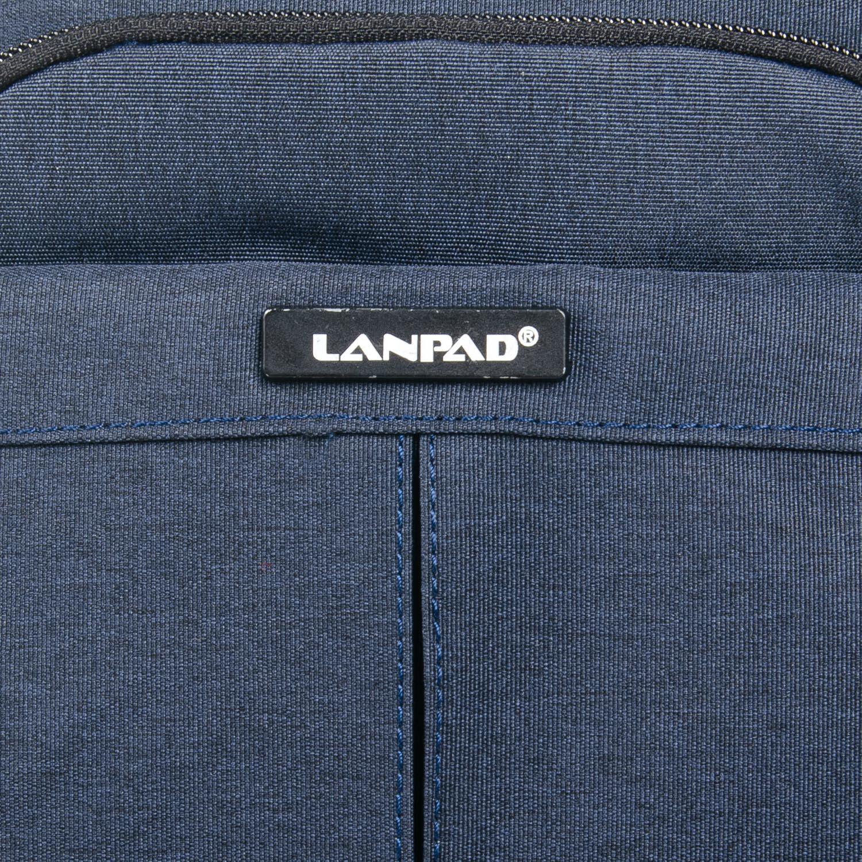 Сумка Мужская Планшет нейлон Lanpad 53201 blue - фото 3