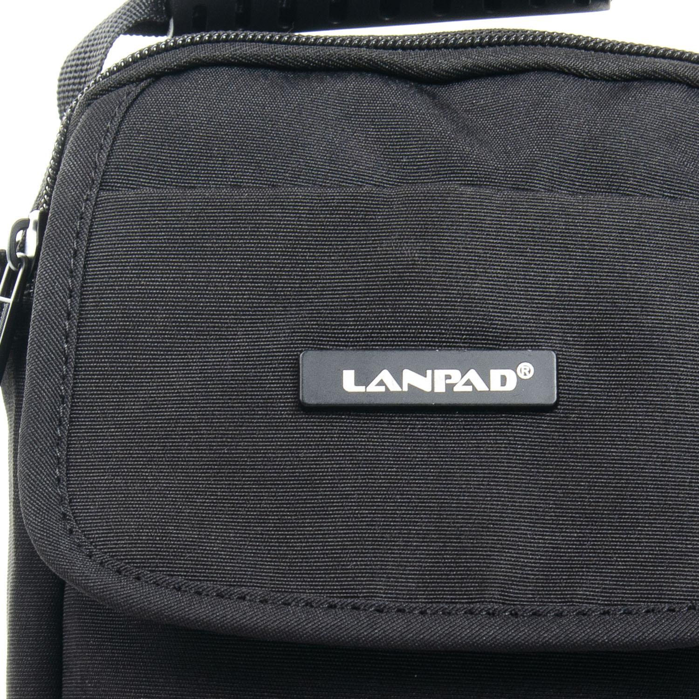 Сумка Мужская Планшет нейлон Lanpad 8338 black - фото 3