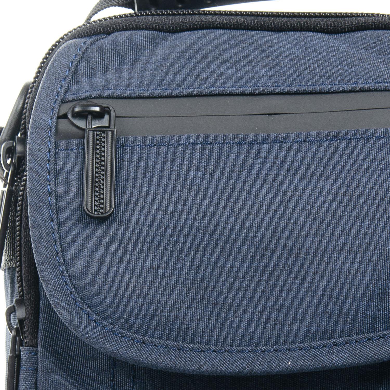 Сумка Мужская Планшет нейлон Lanpad 7634 blue - фото 3