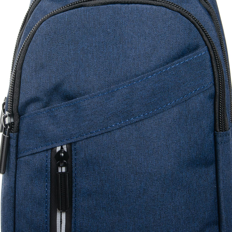 Сумка Мужская На Плечо нейлон Lanpad 8283 blue - фото 3