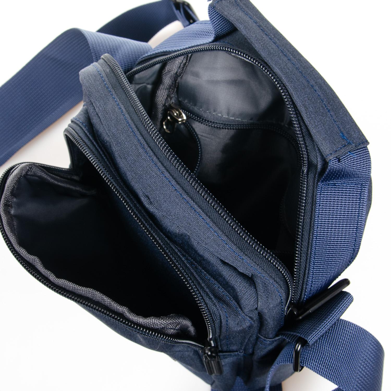 Сумка Мужская Планшет нейлон Lanpad 8174 blue - фото 5