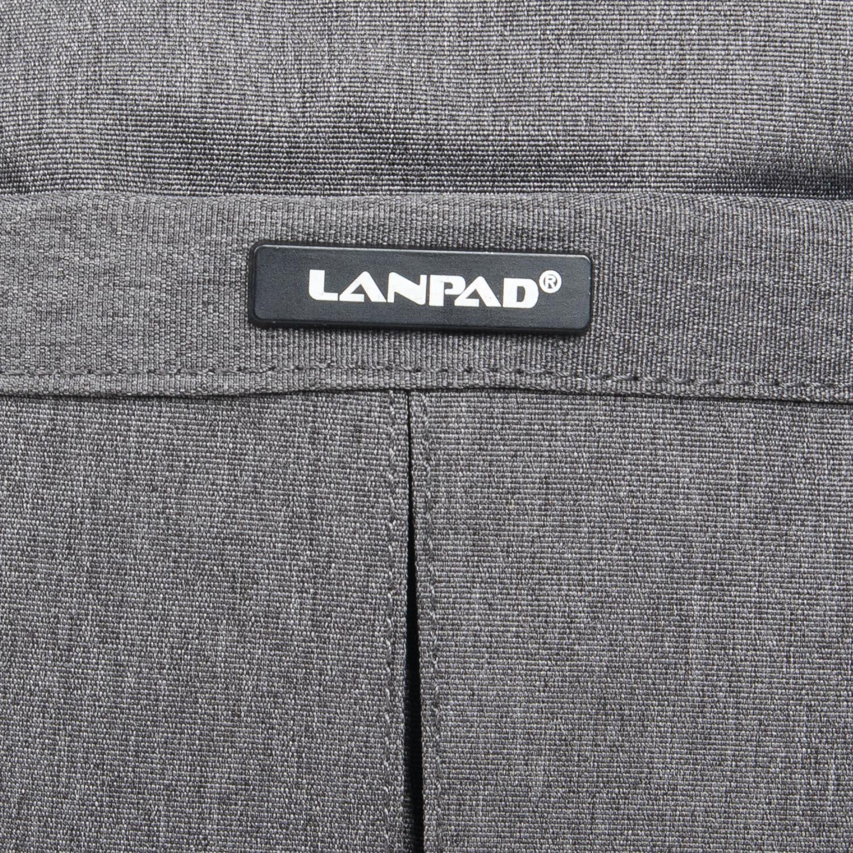 Сумка Мужская Планшет нейлон Lanpad 53201 grey - фото 3