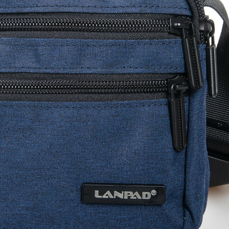 Сумка Мужская Планшет нейлон Lanpad 98782 blue - фото 3