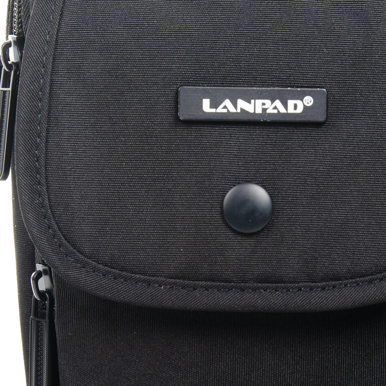 Сумка Мужская Планшет нейлон Lanpad 8347 black - фото 3