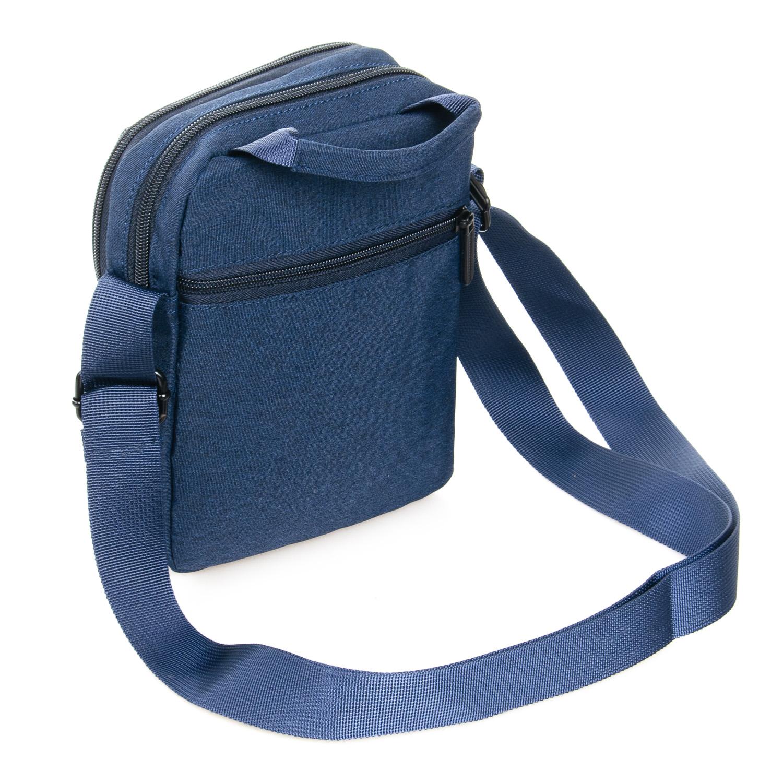 Сумка Мужская Планшет нейлон Lanpad 8348 blue - фото 4