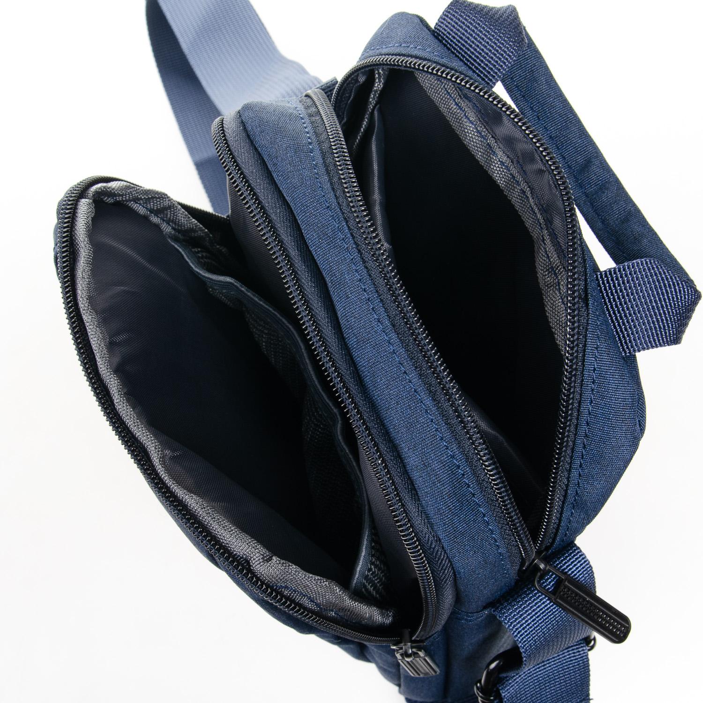 Сумка Мужская Планшет нейлон Lanpad 8348 blue - фото 5