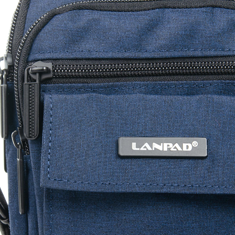 Сумка Мужская Планшет нейлон Lanpad 98772 blue - фото 3