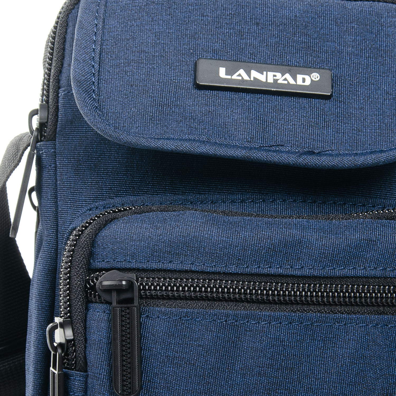 Сумка Мужская Планшет нейлон Lanpad 98771 blue - фото 3