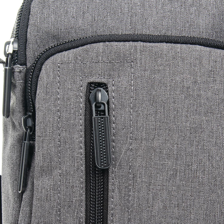 Сумка Мужская Планшет нейлон Lanpad 7630 grey - фото 3