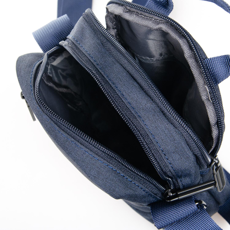Сумка Мужская Планшет нейлон Lanpad 8173 blue - фото 5