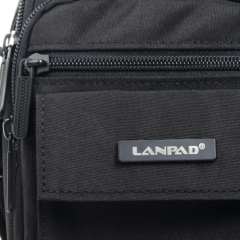 Сумка Мужская Планшет нейлон Lanpad 98772 black - фото 3