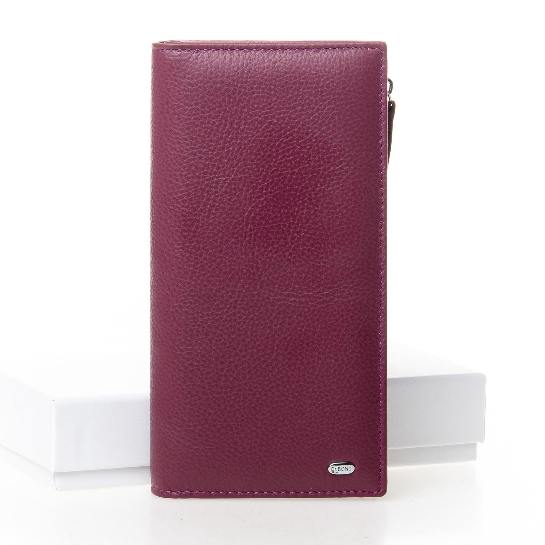 Кошелек Classic кожа DR. BOND WMB-3M purple-red