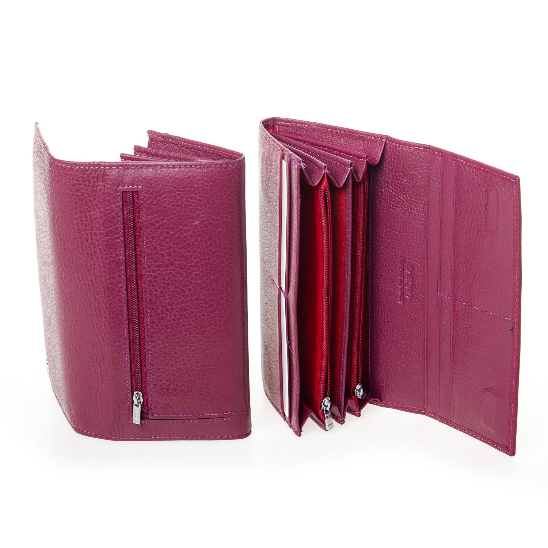 Кошелек Classic кожа DR. BOND W501-2 purple-red - фото 4