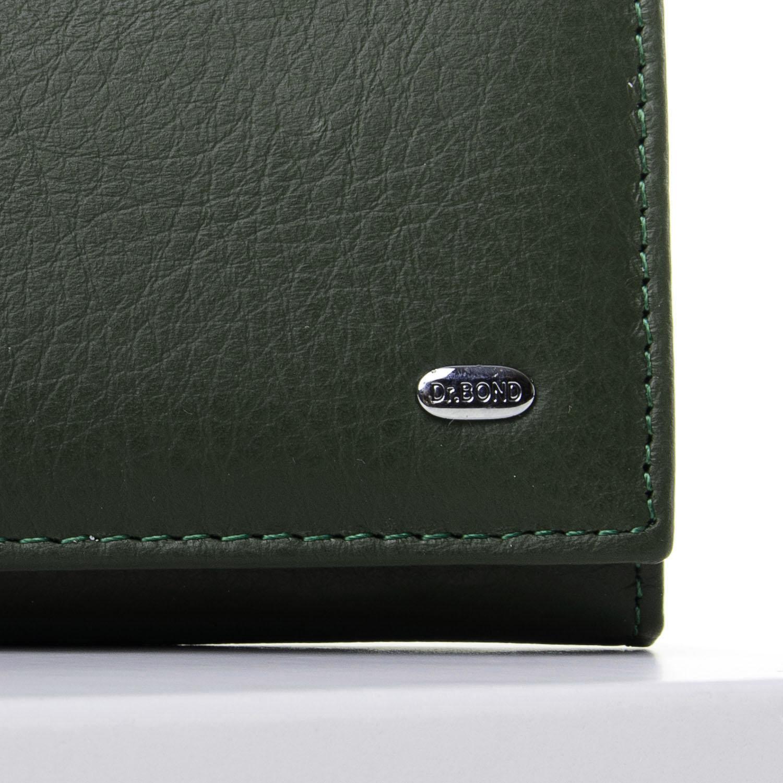 Кошелек Classic кожа DR. BOND W501-2 dark-green - фото 3