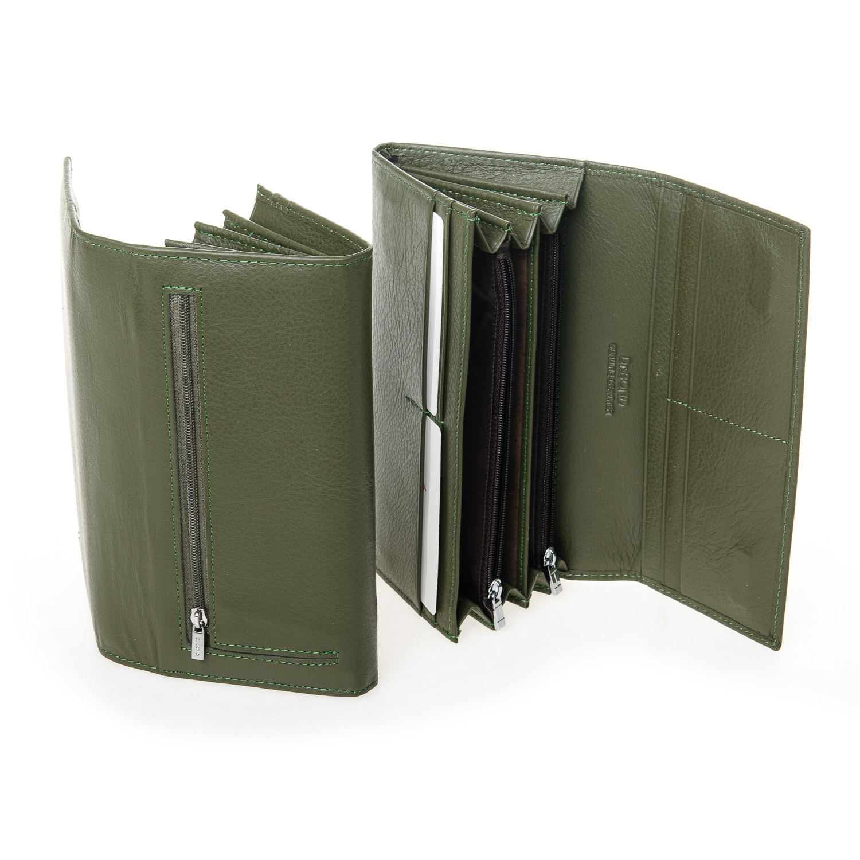 Кошелек Classic кожа DR. BOND W501-2 dark-green - фото 4