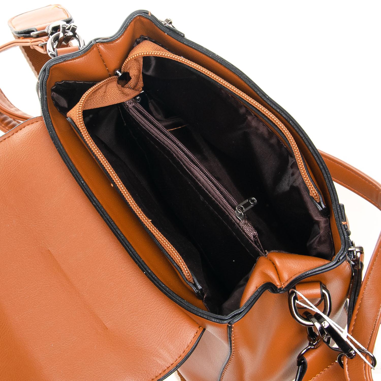Сумка Женская Классическая иск-кожа FASHION 7-03 968 brown - фото 5