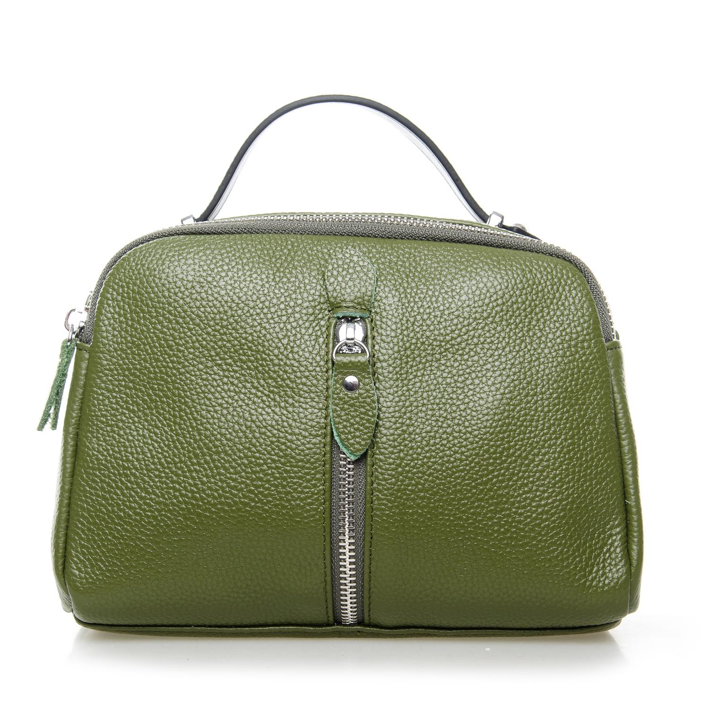 Сумка Женская Клатч кожа ALEX RAI 1-02 2906-8 green