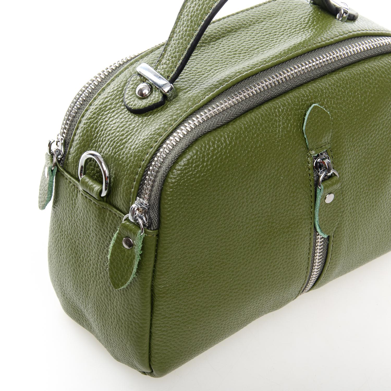 Сумка Женская Клатч кожа ALEX RAI 1-02 2906-8 green - фото 3