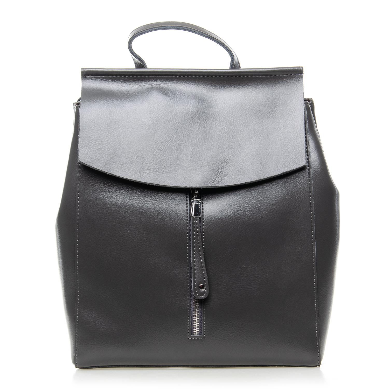 Сумка Женская Рюкзак кожа ALEX RAI 7-02 3206 grey