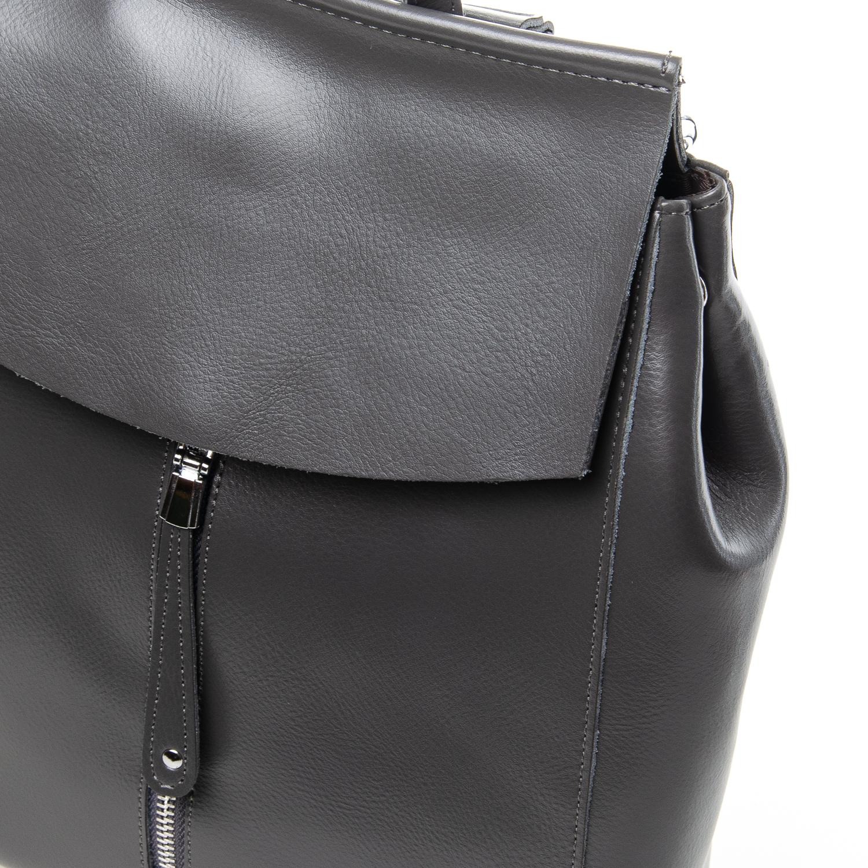 Сумка Женская Рюкзак кожа ALEX RAI 7-02 3206 grey - фото 3