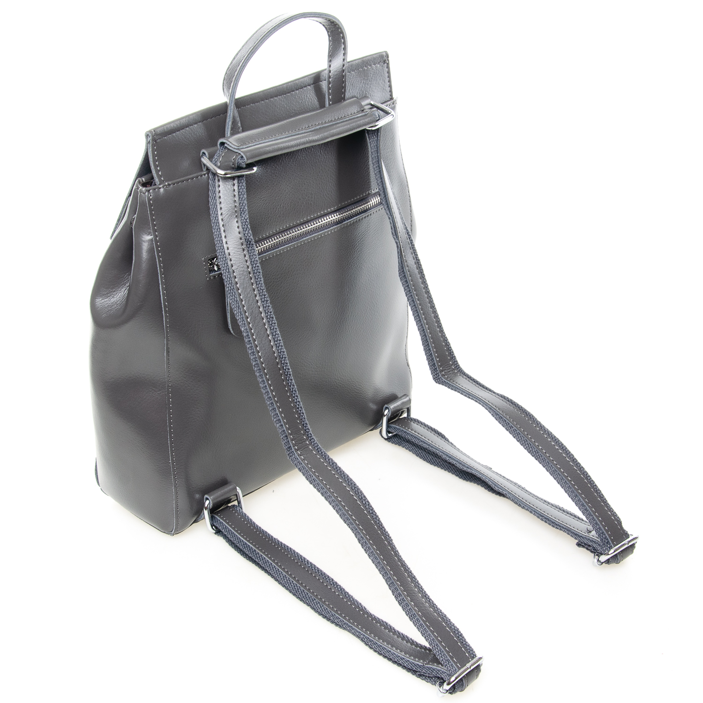 Сумка Женская Рюкзак кожа ALEX RAI 7-02 3206 grey - фото 4