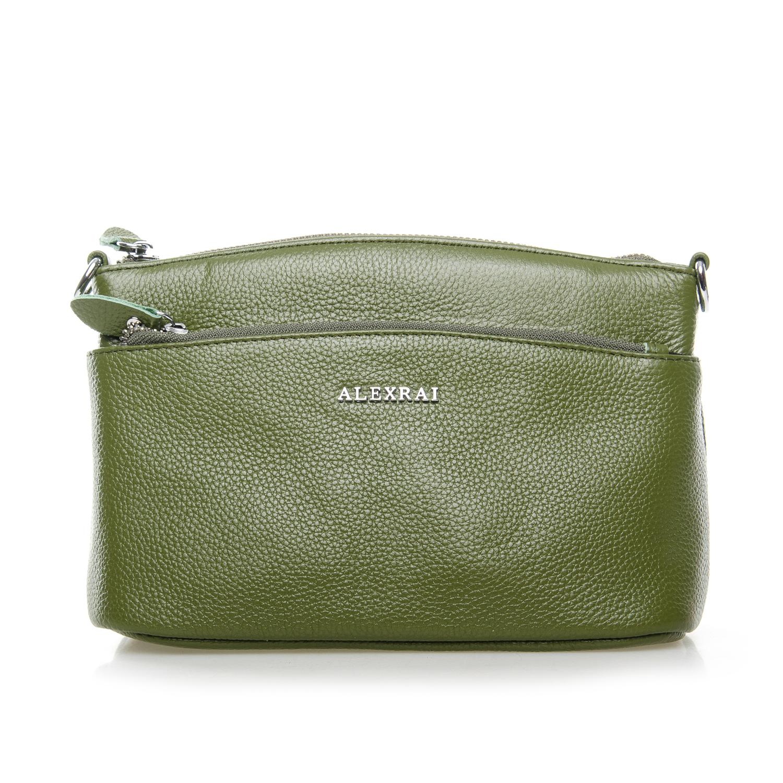 Сумка Женская Клатч кожа ALEX RAI 1-02 2907-8 green