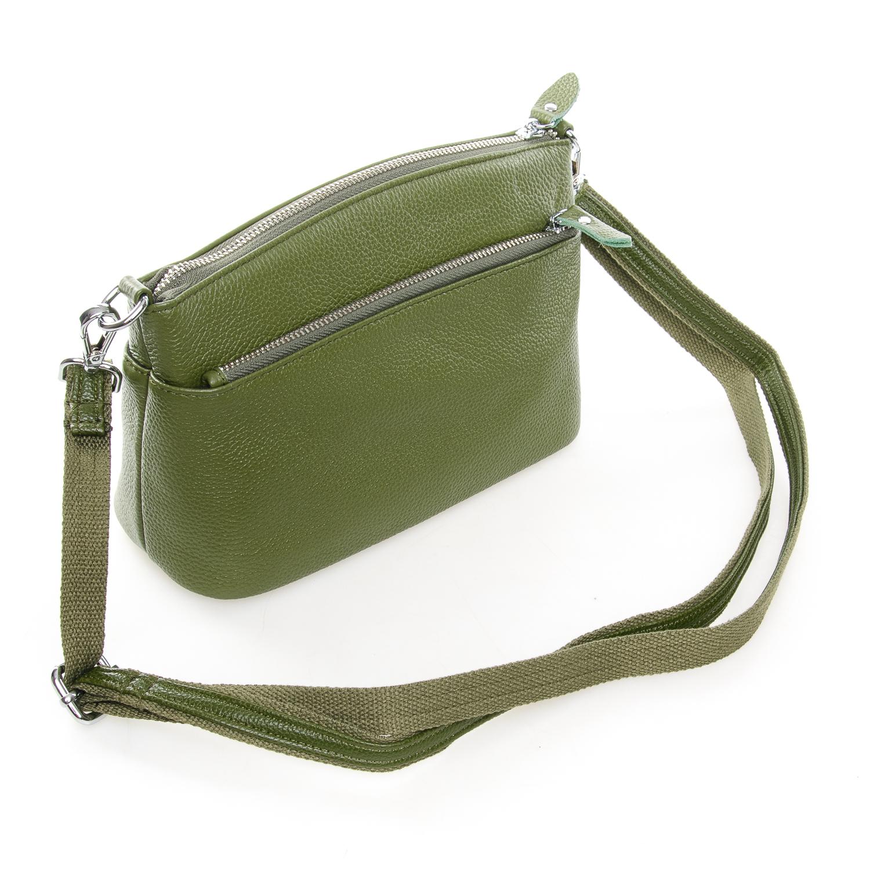 Сумка Женская Клатч кожа ALEX RAI 1-02 2907-8 green - фото 4