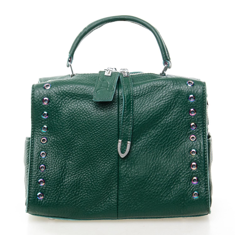 Сумка Женская Классическая кожа ALEX RAI 7-01 8760-9 green