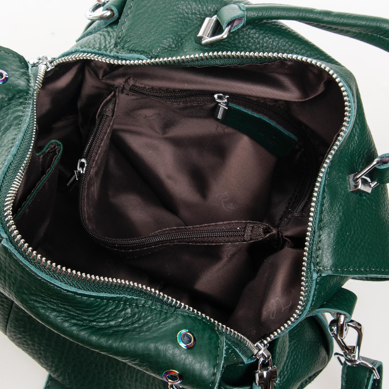 Сумка Женская Классическая кожа ALEX RAI 7-01 8760-9 green - фото 5