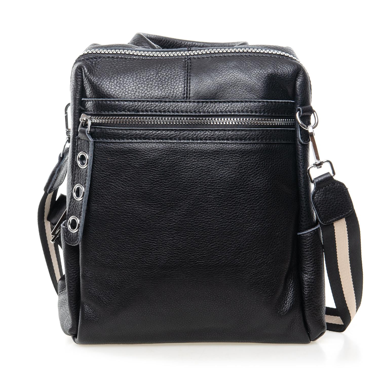 Сумка Женская Рюкзак кожа ALEX RAI 7-02 8781-9 black