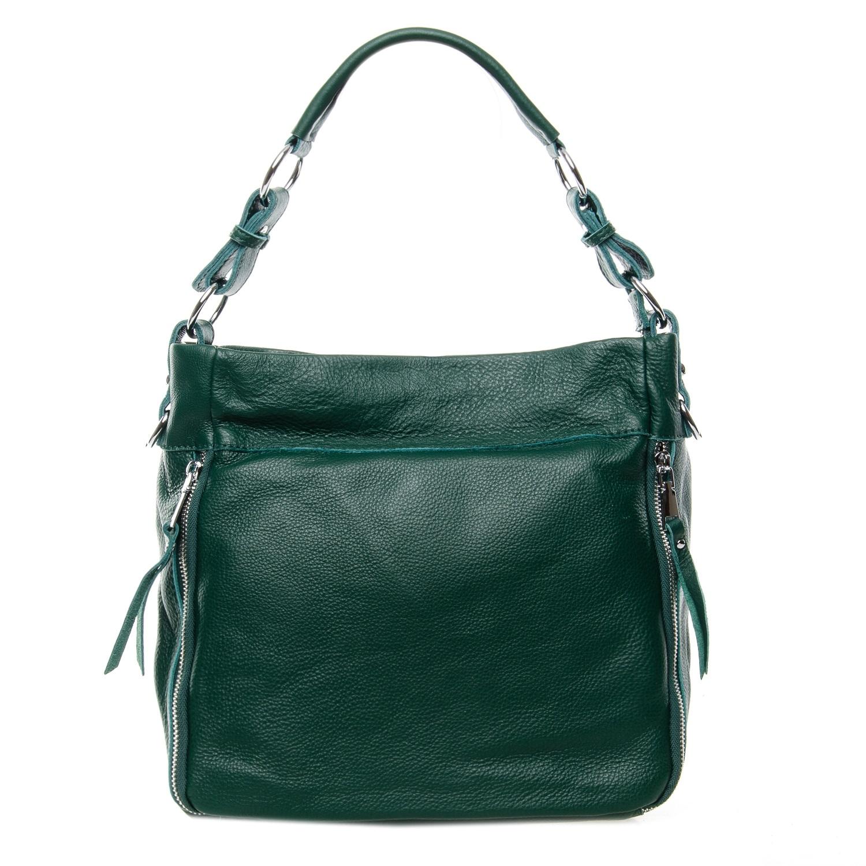 Сумка Женская Классическая кожа ALEX RAI 7-01 8779-9 green