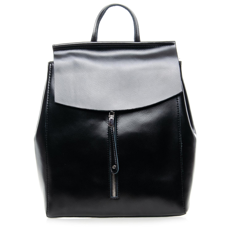 Сумка Женская Рюкзак кожа ALEX RAI 7-02 3206 black