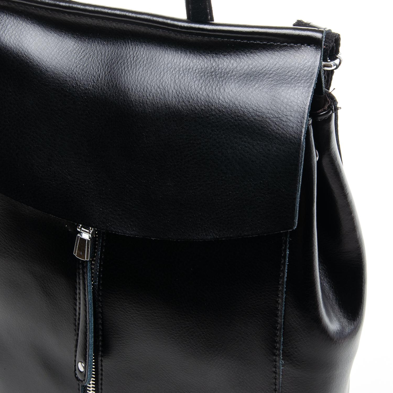 Сумка Женская Рюкзак кожа ALEX RAI 7-02 3206 black - фото 3
