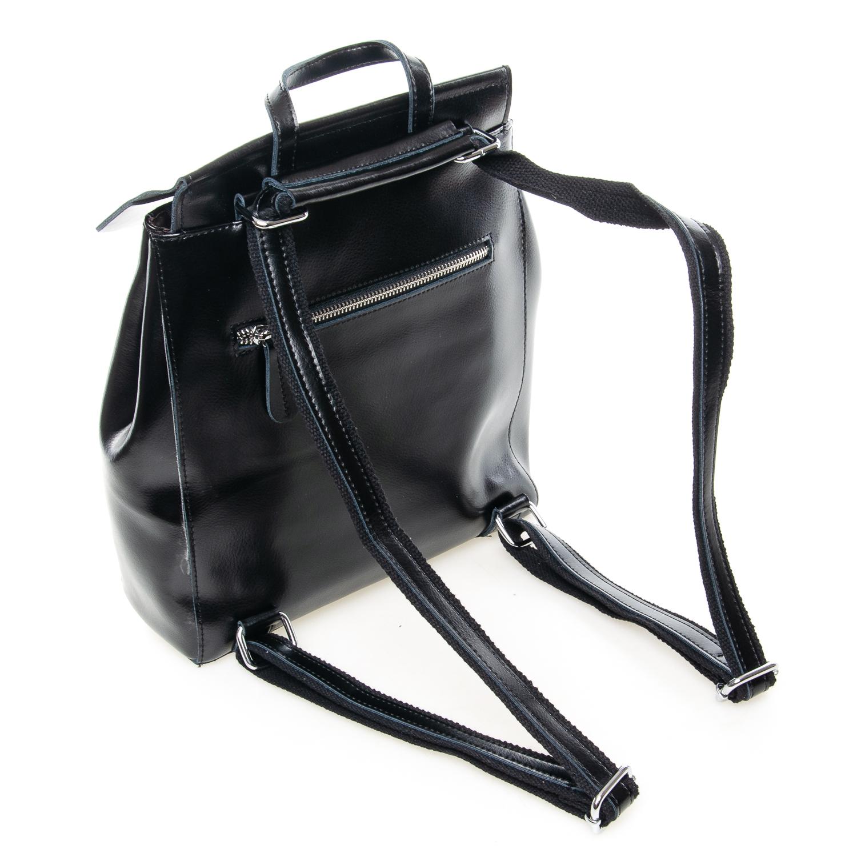 Сумка Женская Рюкзак кожа ALEX RAI 7-02 3206 black - фото 4