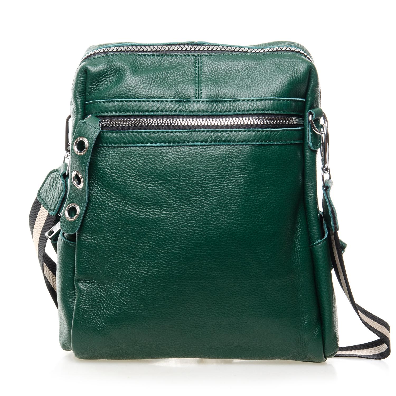 Сумка Женская Рюкзак кожа ALEX RAI 7-02 8781-9 green