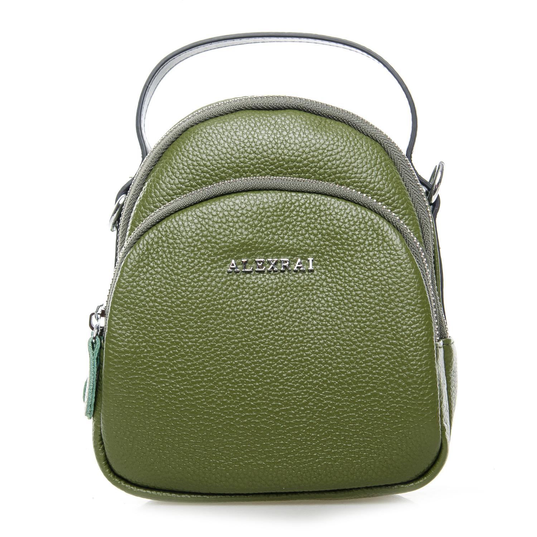 Сумка Женская Клатч кожа ALEX RAI 03-1 3905-8 green