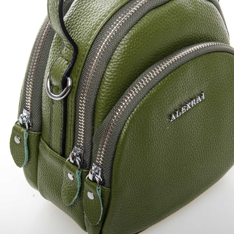 Сумка Женская Клатч кожа ALEX RAI 03-1 3905-8 green - фото 3