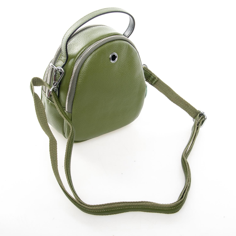 Сумка Женская Клатч кожа ALEX RAI 03-1 3905-8 green - фото 4