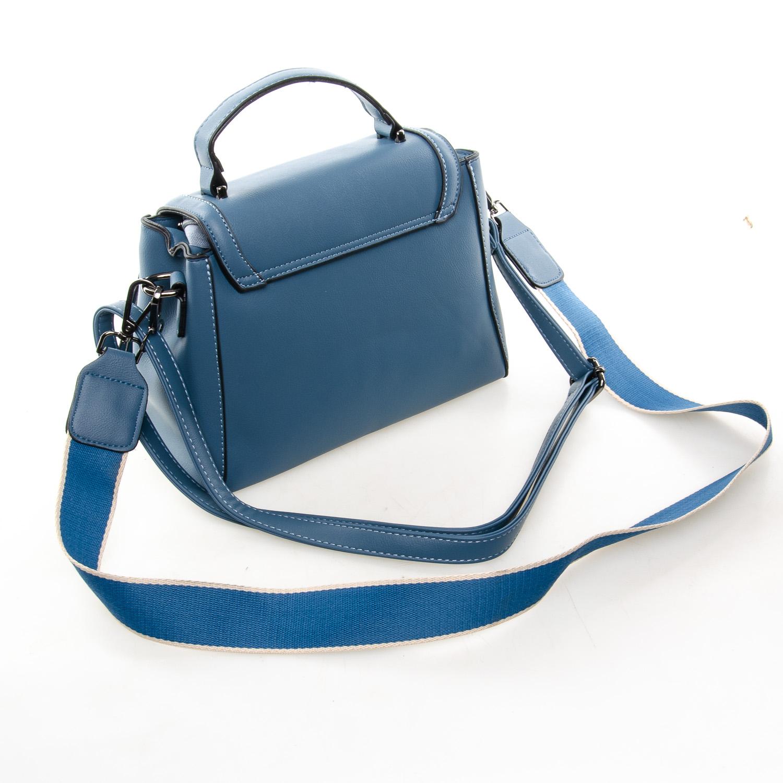 Сумка Женская Классическая иск-кожа FASHION 7-03 968 blue - фото 4
