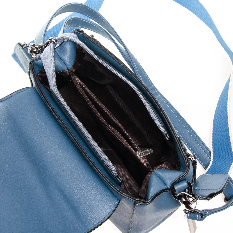 Сумка Женская Классическая иск-кожа FASHION 7-03 968 blue - фото 5