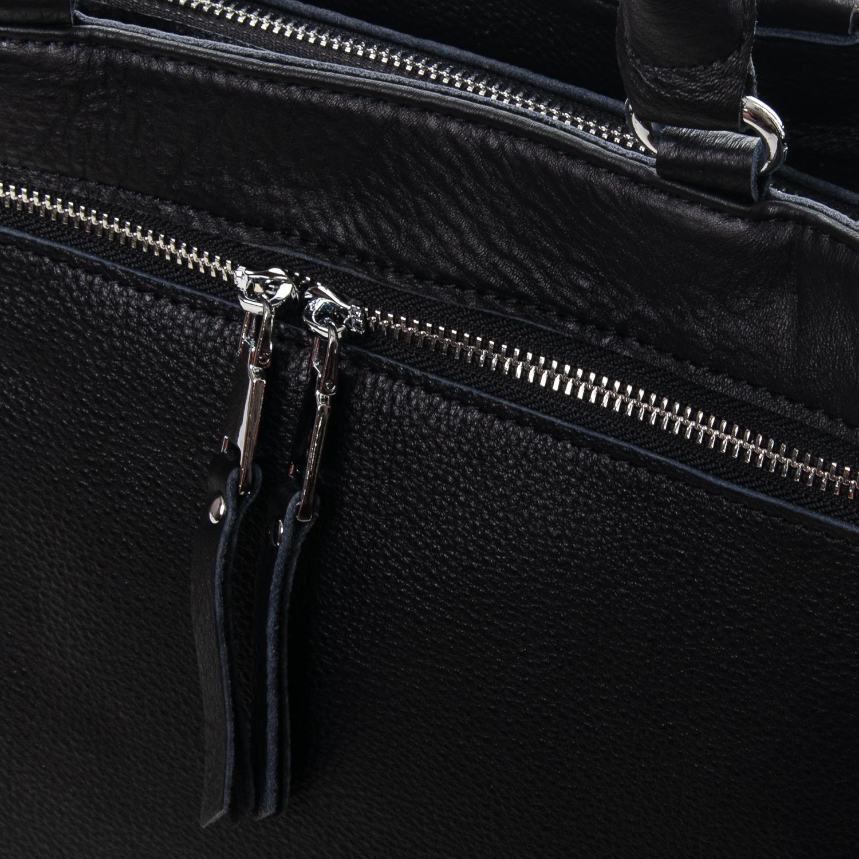 Сумка Женская Классическая кожа ALEX RAI 7-01 8782-9 black - фото 3