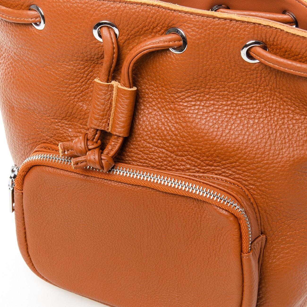 Сумка Женская Классическая кожа ALEX RAI 7-01 7110 khaki - фото 4