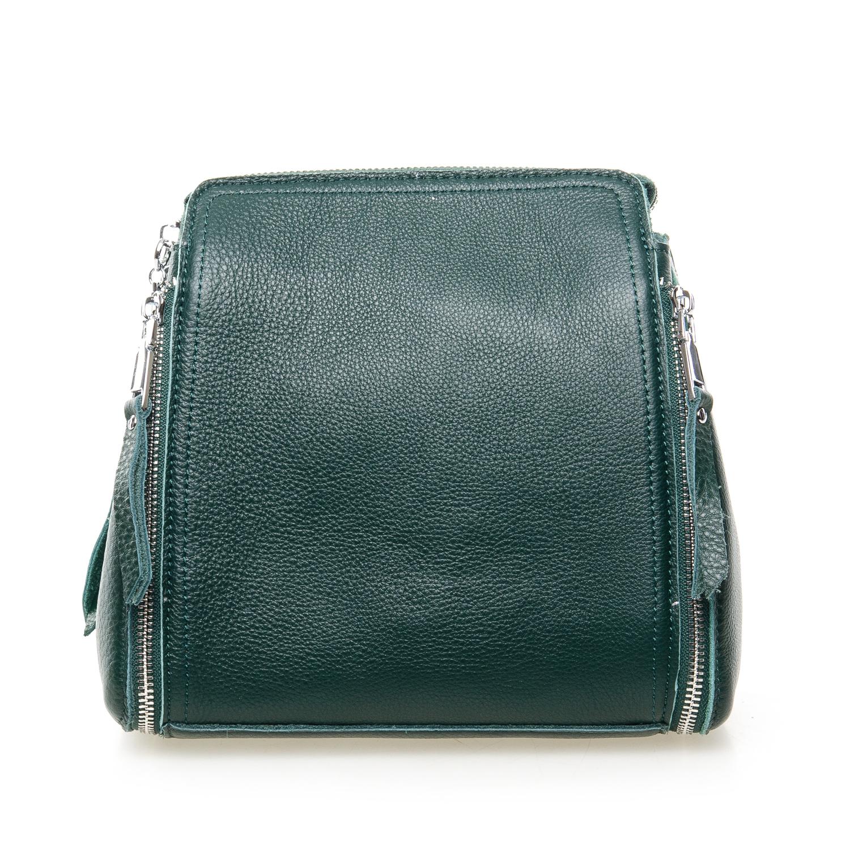 Сумка Женская Классическая кожа ALEX RAI 7-01 7107 green