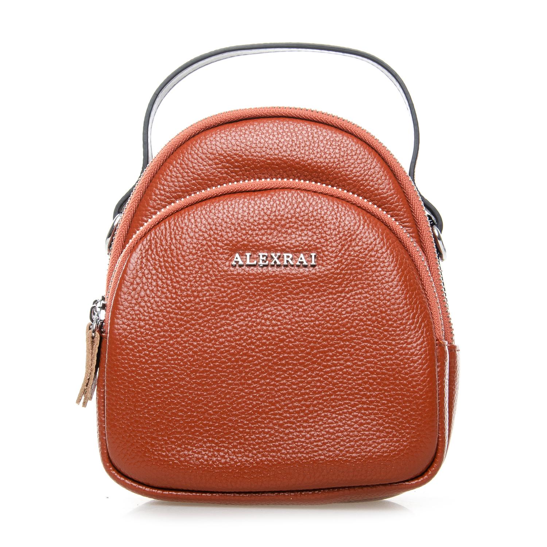 Сумка Женская Клатч кожа ALEX RAI 03-1 3905-6 brown