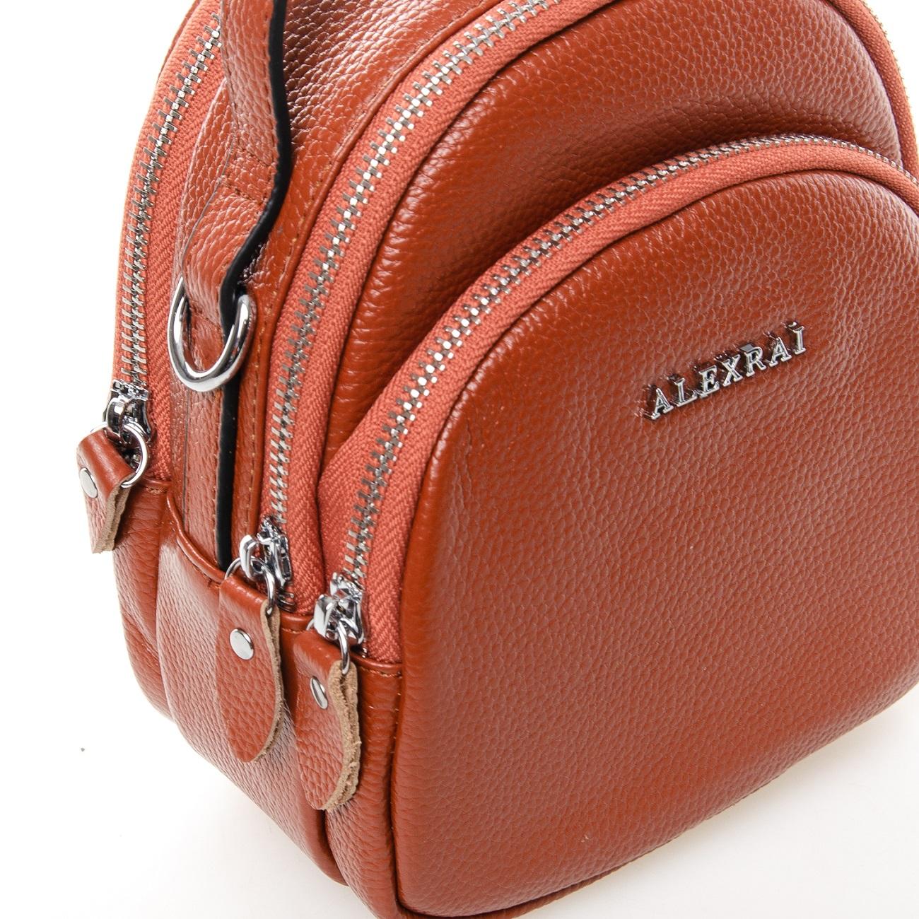 Сумка Женская Клатч кожа ALEX RAI 03-1 3905-6 brown - фото 5
